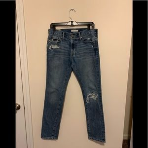 Men Abercrombie & Fitch Skinny Jeans Everyday
